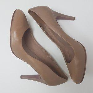 5th Avenue High Heels beige-dusky pink leather