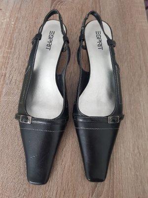 Esprit Slingback pumps zwart