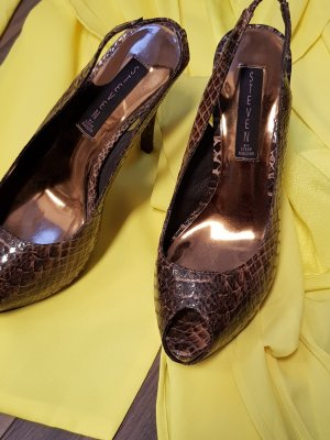 Steve Madden Slingback Pumps bronze-colored-brown