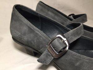 Dkode Décolleté Mary Jane antracite-grigio Pelle
