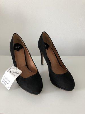 H&M Tacones altos negro