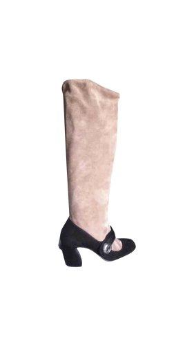 pumps heels boot von prada
