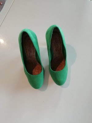 Pumps High Heels Marco Tozzi grün Gr. 38