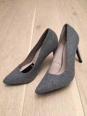 Pumps High Heels NEU Gr. 38 Filz