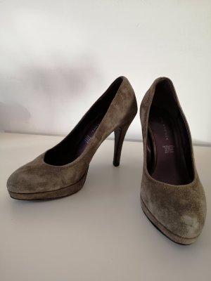 5th Avenue High Heels green grey