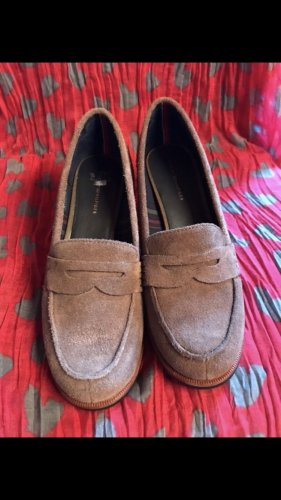 Hilfiger Loafers brown leather