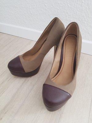Street Shoes Escarpin à plateforme multicolore