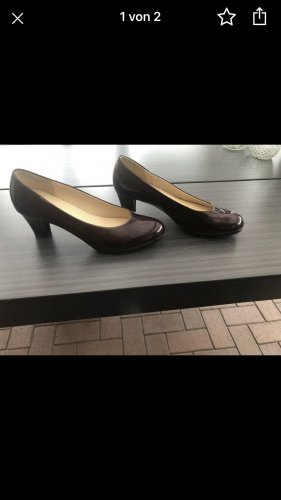 Gabor Plateauzool pumps bordeaux