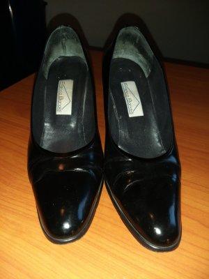 Loafer nero Pelle