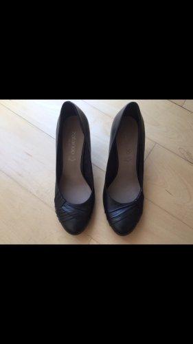 Pumps Lederpumps Zalando Shoes schwarz Größe 39 1x getragen