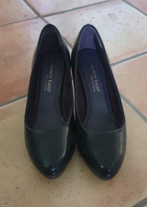 Marco Tozzi Classic Court Shoe dark blue