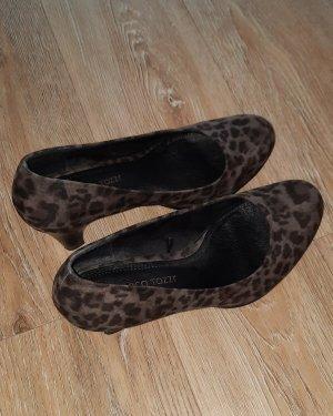 Marco Tozzi Classic Court Shoe black-dark grey