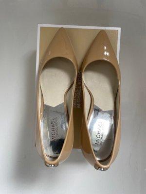 Michael Kors Classic Court Shoe cream leather