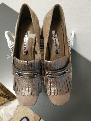 Tamaris Loafer marrone-grigio