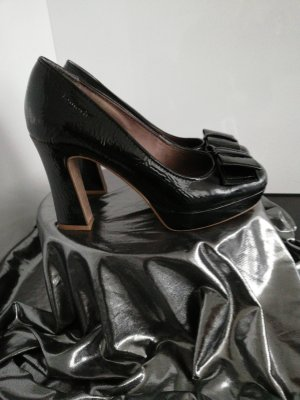 Platform Pumps black