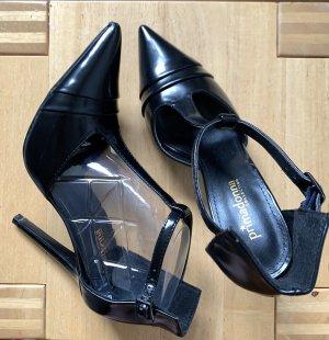 Primadonna Collection T-Strap Pumps black