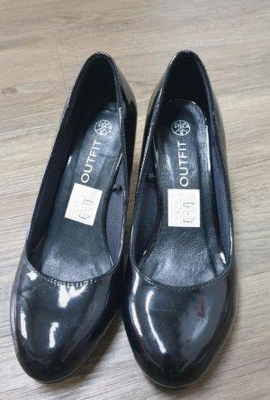 Loafers zwart