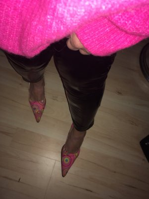 Pumps Pink-Bunt Gr 38