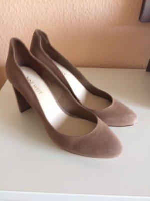 Nine west High Heels beige leather