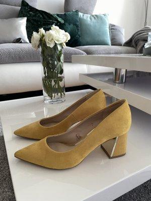 Zara Classic Court Shoe multicolored leather