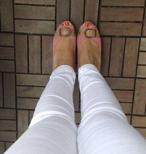 5th Avenue Peep Toe Pumps beige-roze