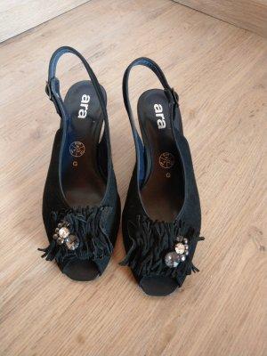 ara Sandalo con cinturino nero