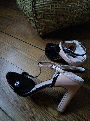 pumps, sandalen, zara, Gr. 38, Pastelltöne, NEU