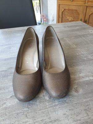 ara Loafers zwart-goud