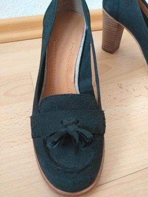 Marc O'Polo Zapatos de cuña negro