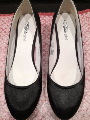 Buffalo girl Wedge Pumps black