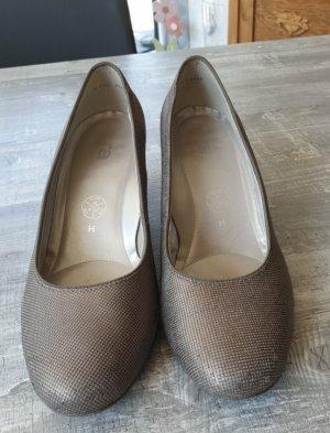 ara Chaussure décontractée noir-doré