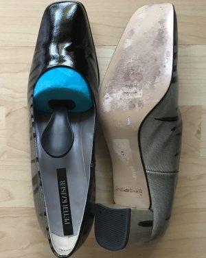 Pumps schwarz-grauer Farbverlauf, sehr schick und kaum getragen