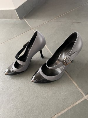 Sergio Rossi Mary Jane Pumps black-grey