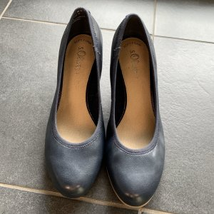 Tom Tailor Loafers dark blue