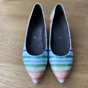 ara Pointed Toe Pumps multicolored