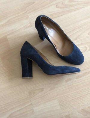 Bagatt Escarpins classiques  bleu foncé cuir