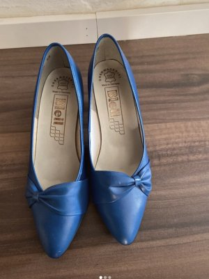 Bleil Pointed Toe Pumps blue