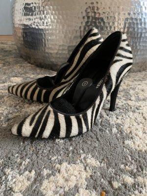 Cute Couture High Heels black-white
