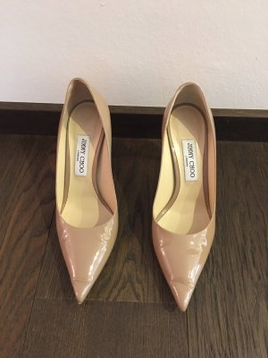 Jimmy Choo High Heels dusky pink-beige