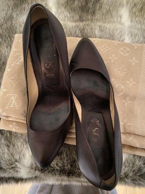 Tod's Classic Court Shoe dark brown