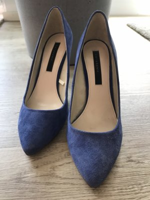 Pumps Zara blau