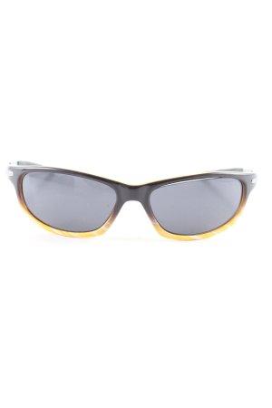 punani Occhiale nero-giallo pallido Colore sfumato stile casual