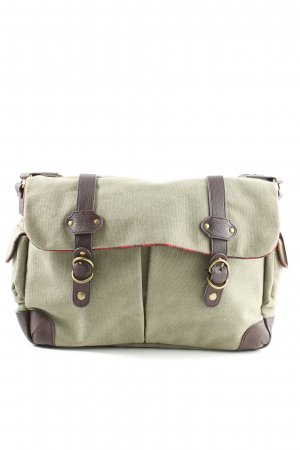 Collegetasche khaki-braun Casual-Look