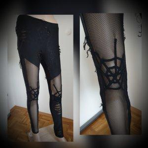 Punk Rave Legging zwart Katoen