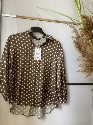 Punkte Bluse S oversized Zara neu !