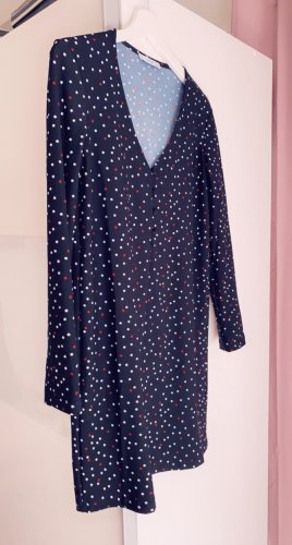 Mango Sukienka z długim rękawem czarny