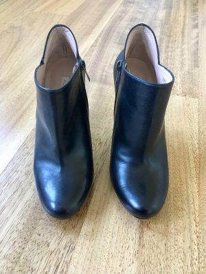 Pura Lopez Ankle Boots Stiefeletten 38 schwarz neu NP 199,00€
