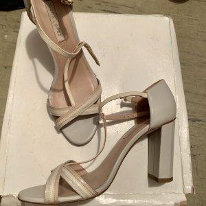 Pura Lopez Strapped Sandals multicolored