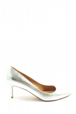 Pura Lopez High Heels silberfarben Elegant