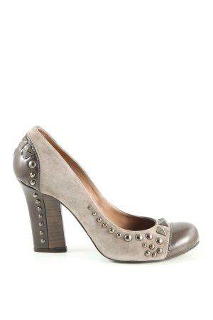 Pura Lopez High Heels hellgrau Elegant